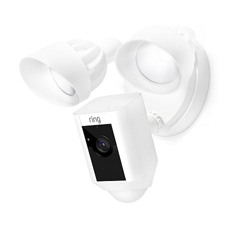 Ring Floodlight Motion-Activated Security Camera with 3-Year Warranty