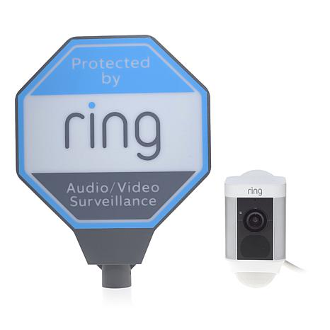 Ring Spotlight HD Security Cam w/Ring Assist+