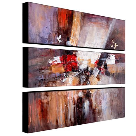 Rio 'Cube Abstract II' Multi-Panel Art Collection