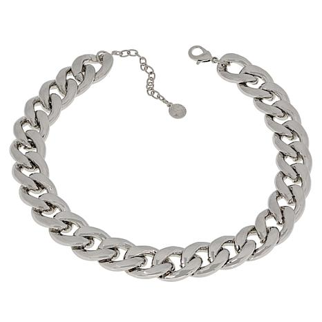 """R.J. Graziano 17-1/2"""" Curb-Link Curb-Link Necklace"""