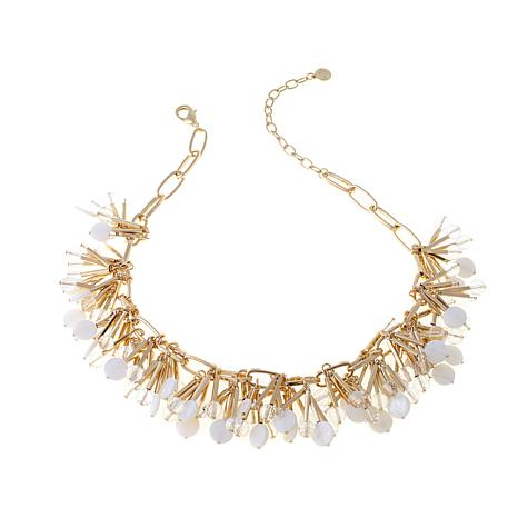 """R.J. Graziano """"Light the Way"""" Spiky Cluster Necklace"""