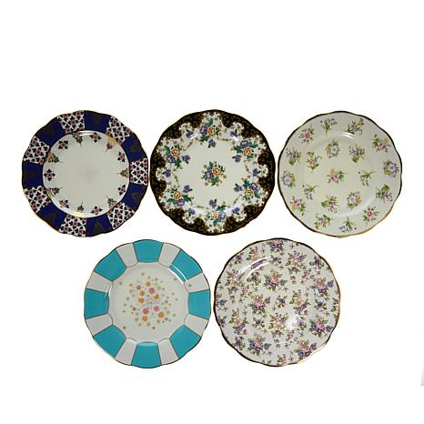 Royal Albert 100 Years 5-piece Plate Set - 1900 to 1940