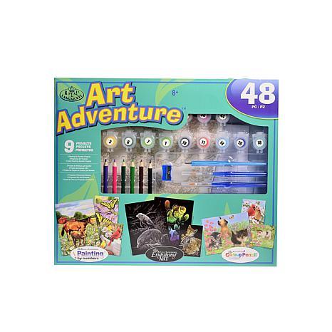 ROYAL  AND  LANGNICKEL Art Adventure Super Value Sets blue set AVS-105
