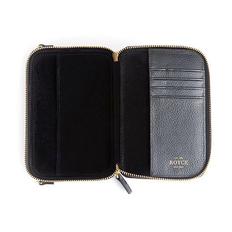 Royce Leather Mini Crossbody Bag