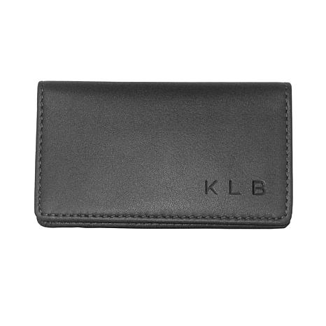 Royce Personalized Slim Business Card Case