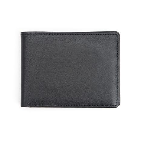Royce RFID-Blocking Bifold Credit Card Wallet