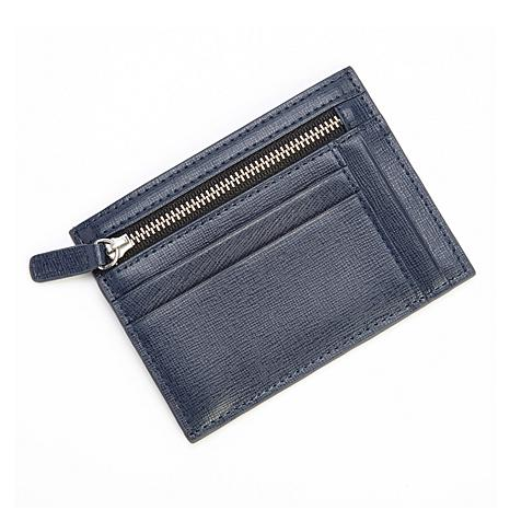 Royce® RFID-Blocking Card Case and Zippered Coin Pocket