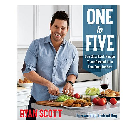 "Ryan Scott ""One to Five"" Handsigned Cookbook"
