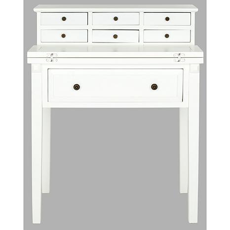 Safavieh Abigail 7 Drawer Fold Down Desk 8474584 Hsn