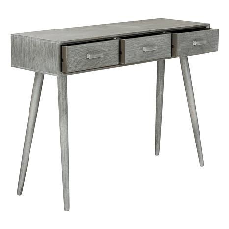 ... Safavieh Albus 3 Drawer Console Table ...