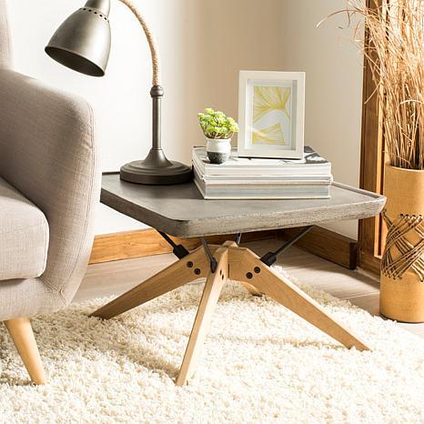 Safavieh Delartin Modern Concrete Coffee Table