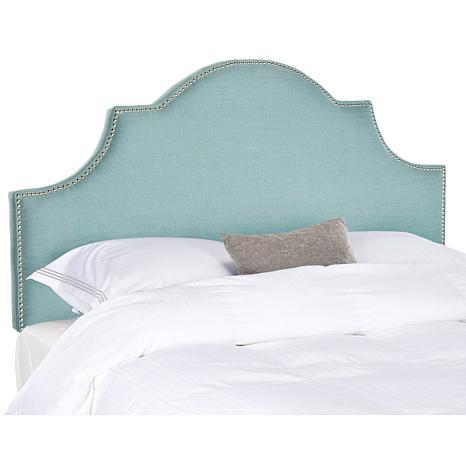 Safavieh Hallmar Linen-Blend Arched Headboard - Queen