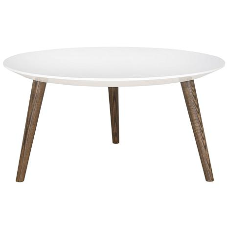 Safavieh Josiah Retro Round Lacquer Accent Table