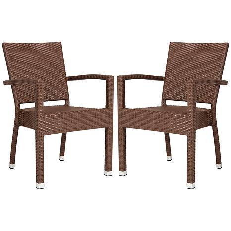 Safavieh Kelda Stacking Arm Chair