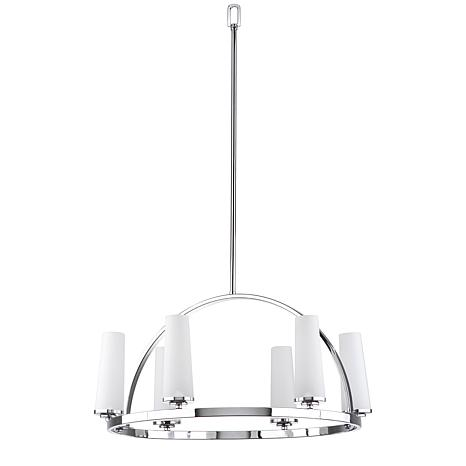 Safavieh Lunar 6-Light Adjustable Pendant - Chrome