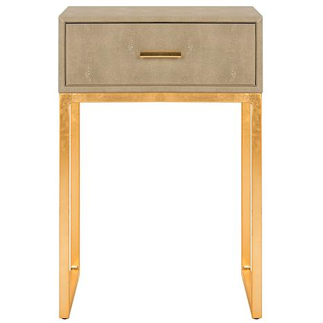 Safavieh Mori Shagreen Modern Side Table