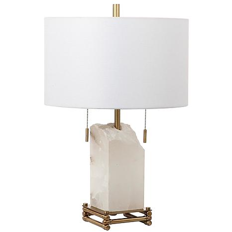 "Safavieh Pearl Alabaster 24"" Table Lamp"