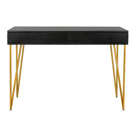Safavieh Pine Two-Drawer Desk