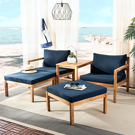 Safavieh Pratia 5-piece Outdoor Living Set