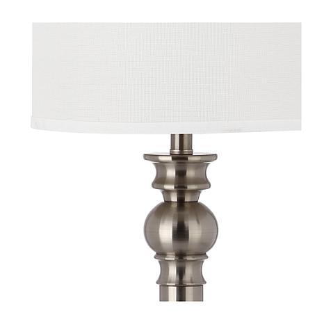 Safavieh set of 2 argos column table lamps 8201358 hsn for Table lamps argos
