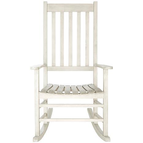 Safavieh Shasta Rocking Chair - White - 8279365 | HSN