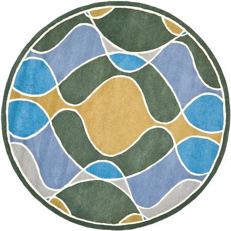 Safavieh Soho SOH762 6' Round Rug