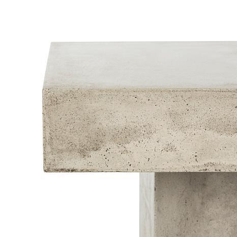 safavieh tallen modern concrete coffee table - 8496298 | hsn