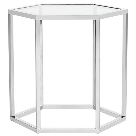 Safavieh Teagan Glass End Table