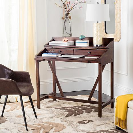 Safavieh Wyatt Writing Desk With Pull Out 8474583 Hsn