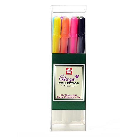 Sakura Gelly Roll Glaze Pens Assorted Set of 16