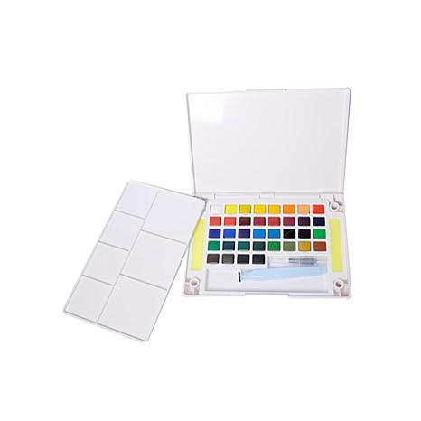sakura koi watercolors pocket field sketch box set 36