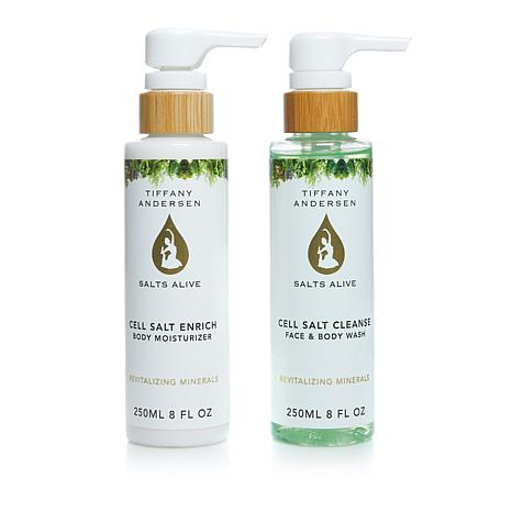 Salts Alive Enrich Body Lotion & Cleanse Body Wash