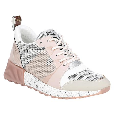 Sam Edelman  Darsie Lace-Up Sneaker with Mesh Detail