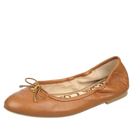 d232b7a001dbd Sam Edelman Felicia Leather or Suede Ballet Flat - 10075800