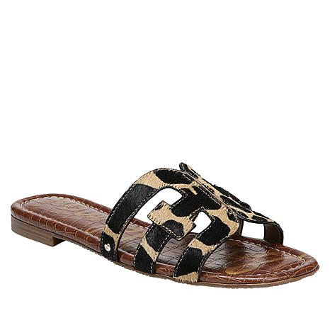 Sam Edelman Leopard Print Haircalf Slide