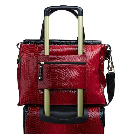 Samantha Brown Embossed Ombré 5-piece Luggage Set - 8251572 | HSN