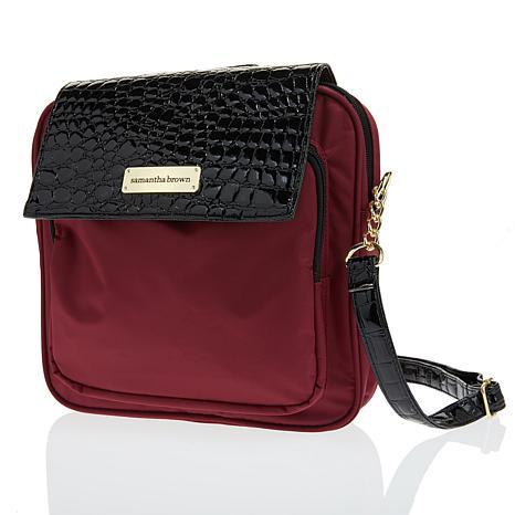 Samantha Brown RFID Crossbody Bag