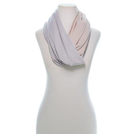 Samantha Brown Travel Infinity Scarf with Hidden Pocket