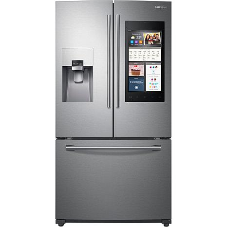 Samsung 24 Cu.Ft. 3-Door Stainless Steel Refrigerator w/Family Hub 2.0
