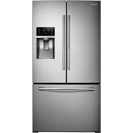 28 Cu Ft French Door Refrigerator With Food Showcase