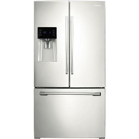 Samsung Refrigerator/External Dispenser - White