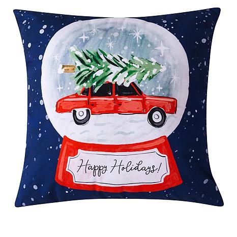 Sara B. Holiday Pillow