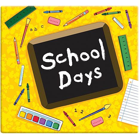 School Days Album - Yellow