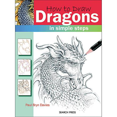 """Search Press Books """"How To Draw: Dragons"""""""