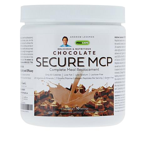 Secure MCP Complete Meal Replacement - 10 Meals