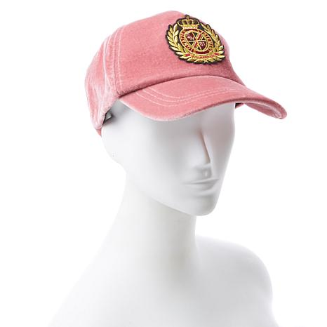 Serena Williams Embroidered Velvet Cap