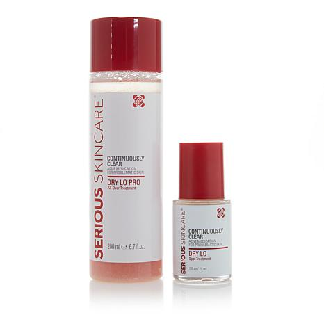 Serious Skincare Dry Lo Pro and Dry Lo Spot Treatment Duo