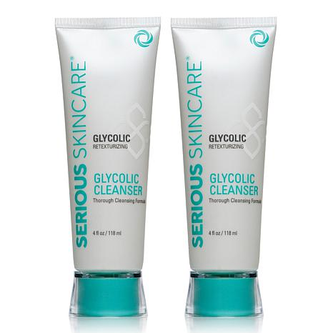 Serious Skincare Glycolic Cleanser Twin Pack - AutoShip