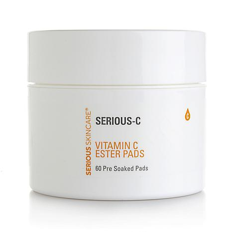 Serious Skincare Vitamin C Ester Pre-Soaked Pads