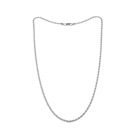 "Sevilla Silver™ 2.3mm Rope Chain 20"" Necklace"